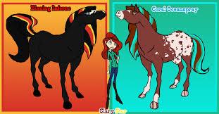 horseland ocs selenethewerewolf deviantart