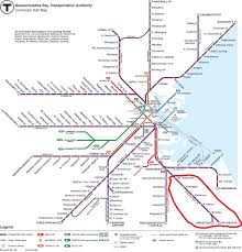 Mbta Map Green Line by Miles On The Mbta Why Does The Kingston Plymouth Line Have Split