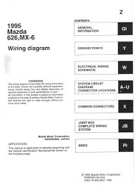 mazda 626 wiring diagram schematics wiring diagram