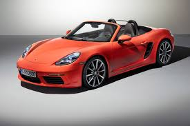 Porsche Boxster 2000 - boost or bust turbocharged 2016 porsche 718 boxster revealed by