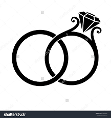 free wedding band rings free wedding clipart borders drawing wedding rings