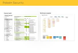 paladin website redesign for security service fraukeseewald