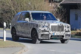 2018 rolls royce cullinan rolls royce cullinan shows suvesque body during pre production