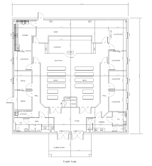 Church Floor Plans Free Church Of God New Church Building 1632 Lakewood Drive Brandon