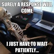 Waiting For Text Meme - beth skwarecki on twitter me waiting for a dinosaur picture