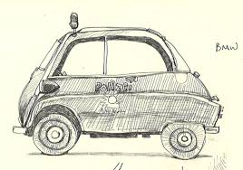 bmw vintage carol u0027s drawing journal bmw vintage police car