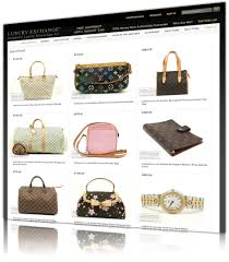 luxury exchange web design and development ecommerce