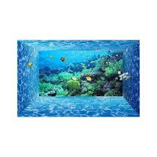chambre aquarium charmant chambre peinture 2 couleurs 14 papier peint 3d fond