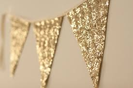 bachelorette gold bunting gold garland gold sequin