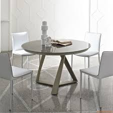 Table Ronde Extensible Blanche by Millennium O Ext Table Design Ronde De Bontempi Casa à Rallonge