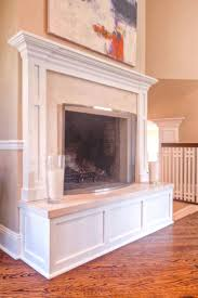fireplace hearth pad ideas bookcases shelves built in no top