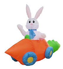 Easter Bunny Decoration Games by Best Easter Yard Inflatables 2016 Yard Inflatable Life
