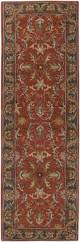 Red And Blue Persian Rug by Surya Caesar Cae 1007 Rugs Rugs Direct