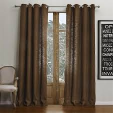 Brown Linen Curtains 46 Best Curtains Images On Pinterest