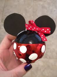 diy minnie mouse ornament ornaments