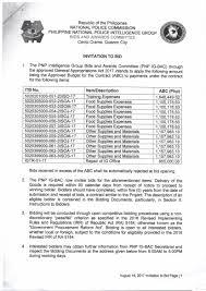 to bid invitation to bid ig bac