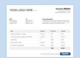 Html Invoice Template Free html invoice template free blank invoice template