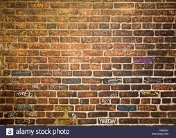 Brick Walls by Brick Wall With Grafitti At Philippe U0027s Restaurant Downtown Los