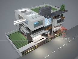 Houzd by Ultra Modern Small House Plans Home Design
