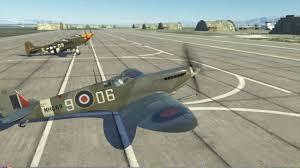 dcs spitfire tutorial puesta en marcha carreteo y despegue