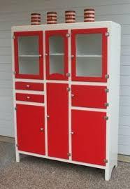 Antique Red Kitchen Cabinets by Stunning Vintage 40s 50s Hygena Kitchenette Kitchen Larder Unit