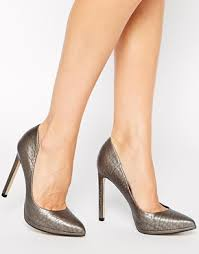 what color shoes go with a charcoal gray lace dress the dress is