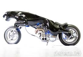 jaguar logo barend massow hemmes u0027 black cat motorcycle built to resemble the