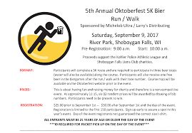Map Of Kohler Wisconsin by Oktoberfest 5k Run Walk U2013 Kohler Police Athletic League And The