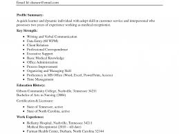 Resume For Medical Secretary Bold Design Ideas Medical Secretary Resume 9 Free Medical