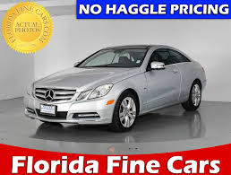 used mercedes for sale used mercedes benz e class coupe for sale in miami hollywood