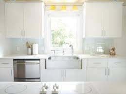 modern kitchen glass subway tile kitchen backsplash laminated