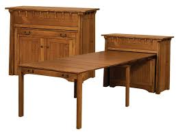 pull out table small manitoba pullout table manitoba buffet w pullout table