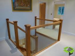 oak and embedded glass staircase stairbox staircases