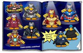 Marvel Super Heroes Clothing Marvel Catalog Club Penguin Wiki Fandom Powered By Wikia