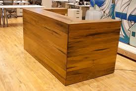 Custom Reception Desk Custom Reclaimed Fir Reception Desk Bay Area Custom Furniture