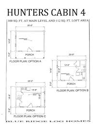 floor plans small hunting cabins