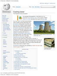 cooling tower wikipedia the free encyclopedia air