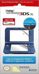 amazon new 3ds xl black friday deal hori duraflexi clear protector for nintendo new 3ds xl nintendo