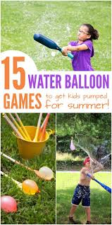 cool off with this summer water balloon game water balloon