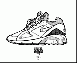 michael jordan shoes coloring pages u2013 ecolorings cheap jordan