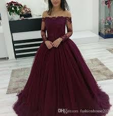 maroon quinceanera dresses 2018 quinceanera dresses burgundy bateau neck shoulder lace