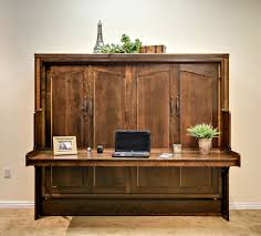 Ashley Furniture Home Office Desks by Hide Away Desk Bed Wilding Wallbeds In Queen Wall Bed With Desk