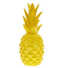 yellow pineapple ornament tk maxx home style pinterest