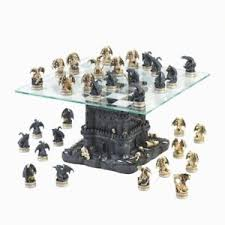 decorative chess set quality rustic chess set large 15 inch ultimate dragon decorative