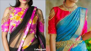 cold shoulder blouse designs designer saree blouse designs