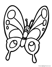 butterfly 01 coloring page coloring page central