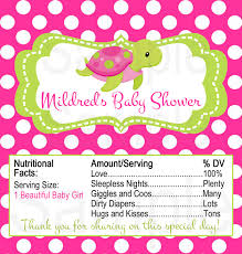 pink and green turtle or blue shark under the sea theme baby