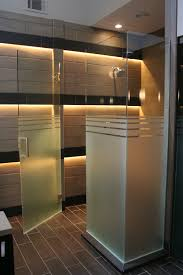 Frosted Glass Shower Door Frameless Half Etched Frosted Glass Shower Doors Not Sure About The