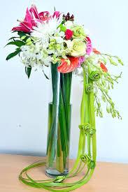 Tall Glass Vase Flower Arrangement 31 Best Fresh Flower Arrangements Images On Pinterest Fresh