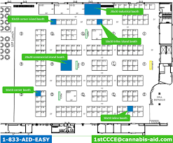 cobo hall floor plan exhibiting opportunities cannabis aid